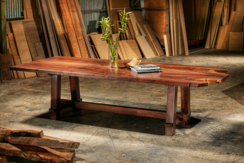 Photo of Custom dining table by Phil Garcia
