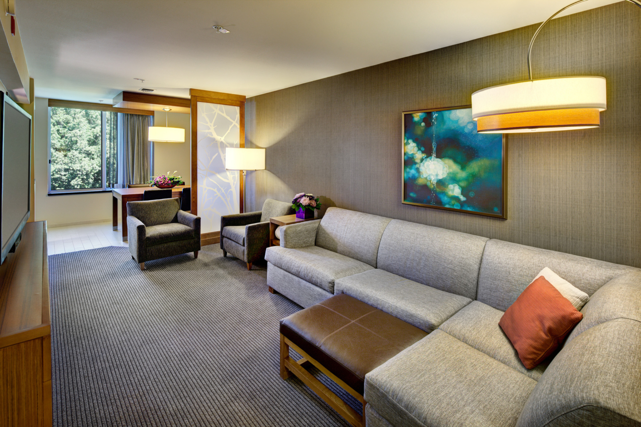 Photo of Hyatt Place UC Davis Suite Living Room