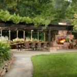 Photo of Outdoor dining set up for a party!